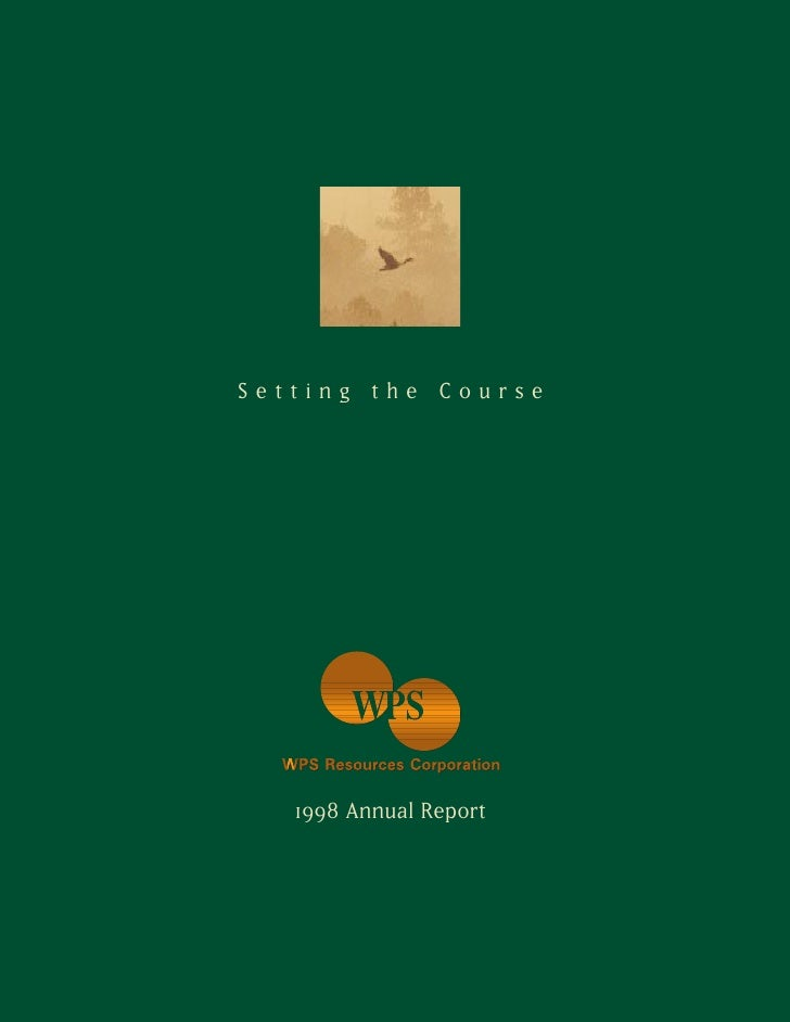 Setting the Course        1998 Annual Report