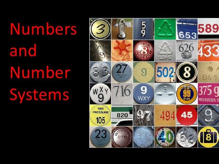 NumbersandNumberSystems