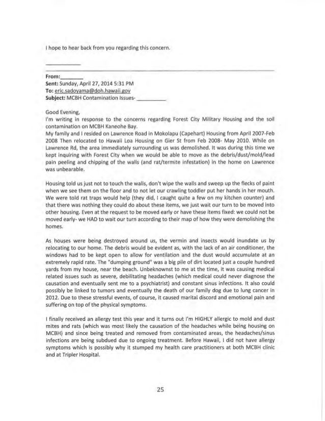 letter from dr walter chun to doh