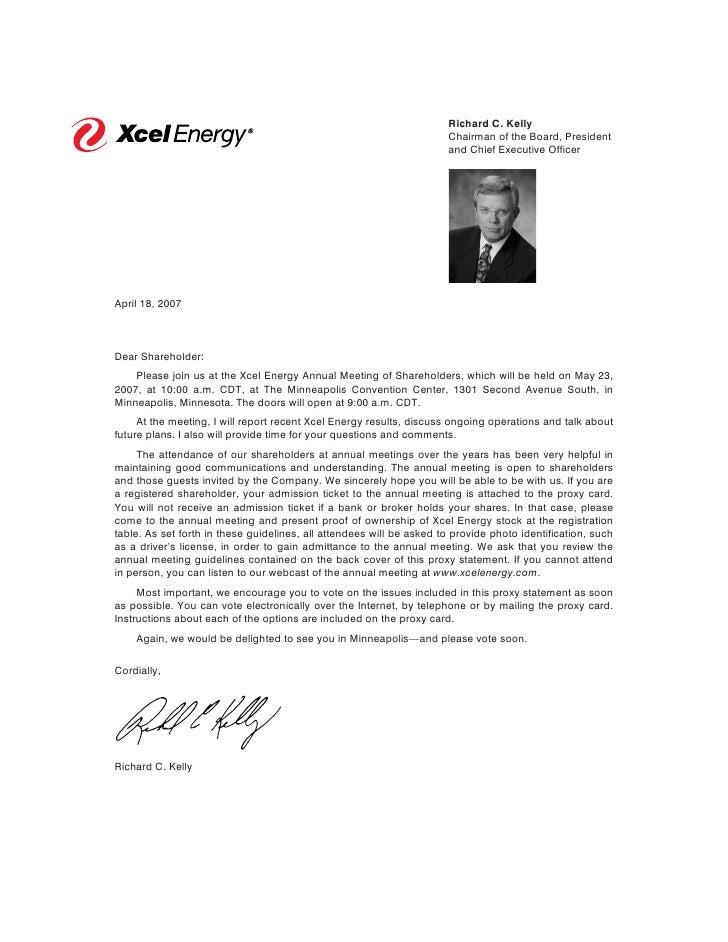 Richard C. Kelly                                                                       Chairman of the Board, President   ...