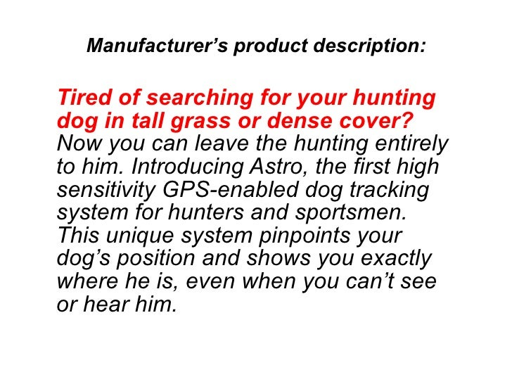 Tired of searching for your hunting dog in tall grass or dense cover?  Now you can leave the hunting entirely to him. Intr...