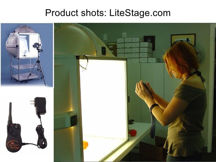 Product shots: LiteStage.com