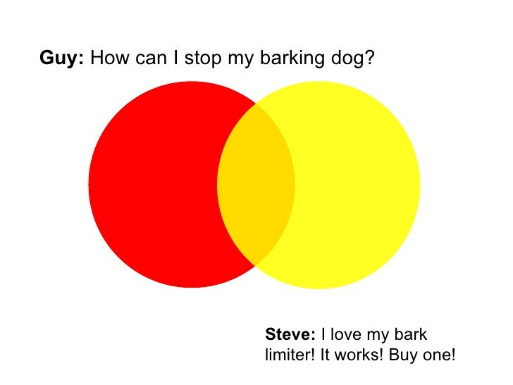 Guy:  How can I stop my barking dog?  Steve:  I love my bark  limiter! It works! Buy one!