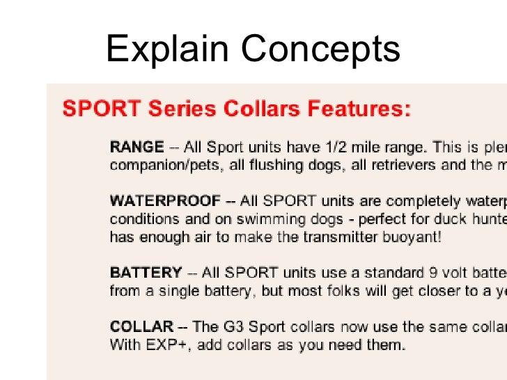 Explain Concepts