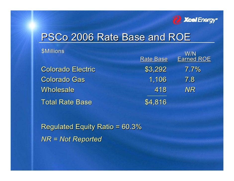 Gas Electric Xcel Gas Electric Colorado