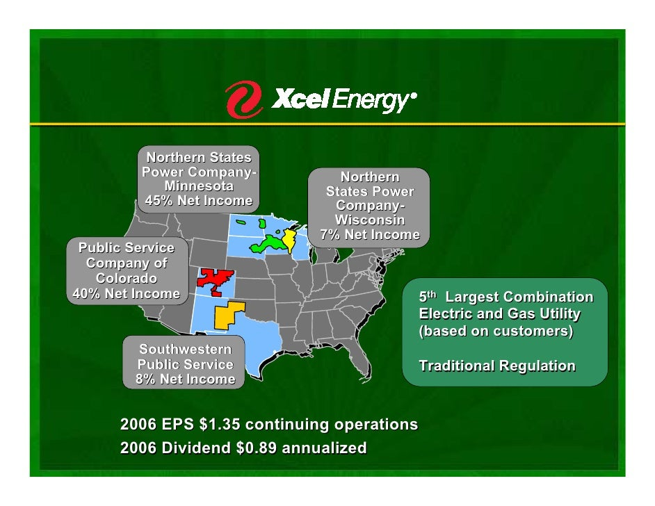 Excel energy company mn