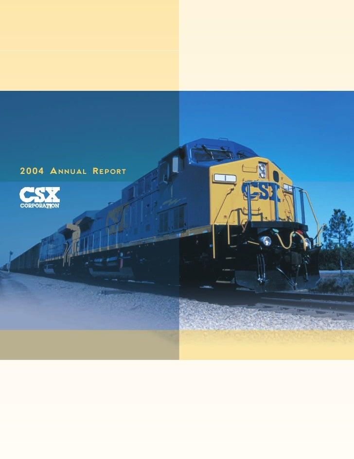 2004 ANNUAL REPORT   CORPORATION        TIO