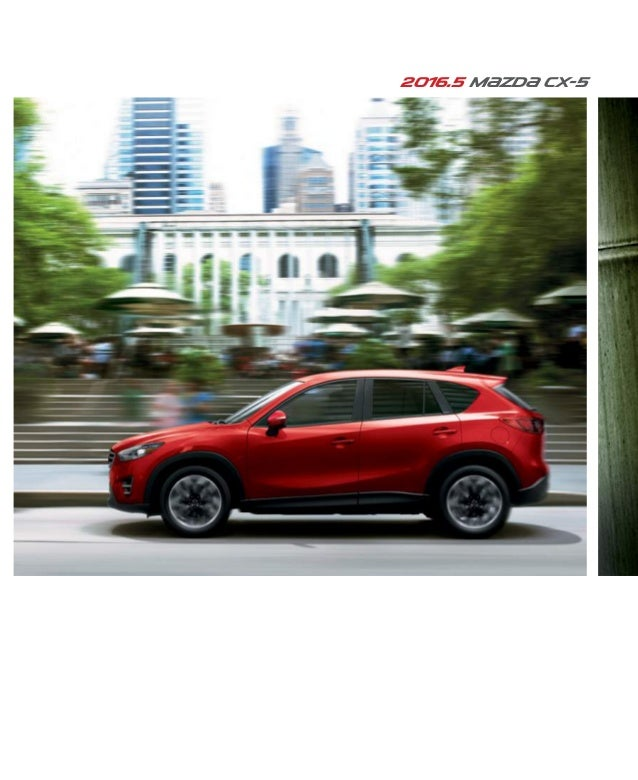 Mazda Dealers Cincinnati >> 2016 Mazda Cx 5 Brochure Cincinnati Mazda Dealer