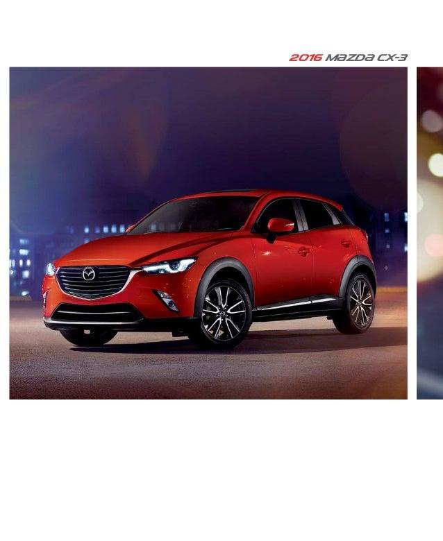 Mazda Dealers Cincinnati >> 2016 Mazda Cx 3 Brochure Cincinnati Mazda Dealer