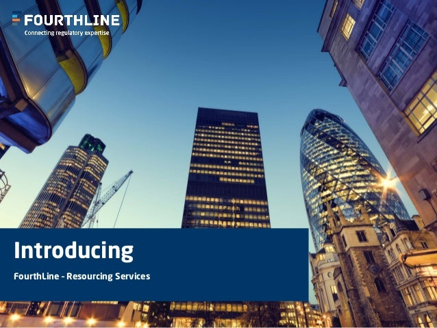 Introducing FourthLine – Resourcing Services