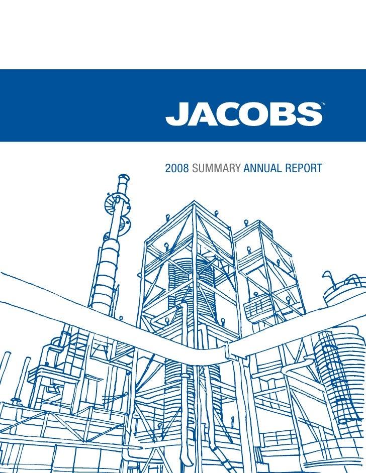 2008 SUMMARY ANNUAL REPORT