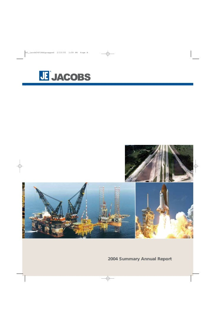 2004 Summary Annual Report