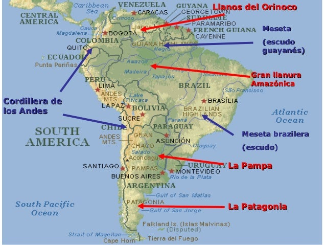 geografia de america latina fisica quantica - photo#32