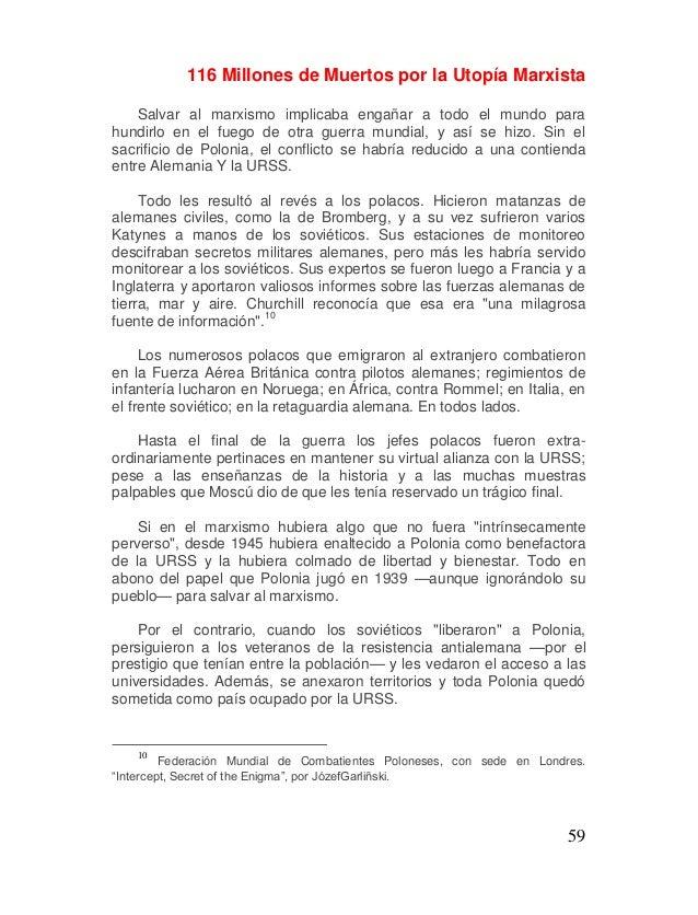 """116 MILLONES DE MUERTOS POR LA """"UTOPÍA"""" MARXISTA. Y va Camino de su…"""