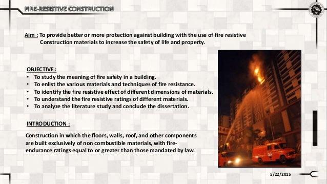 Fire Resistive Construction