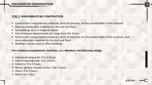 Type 3 ordinary construction