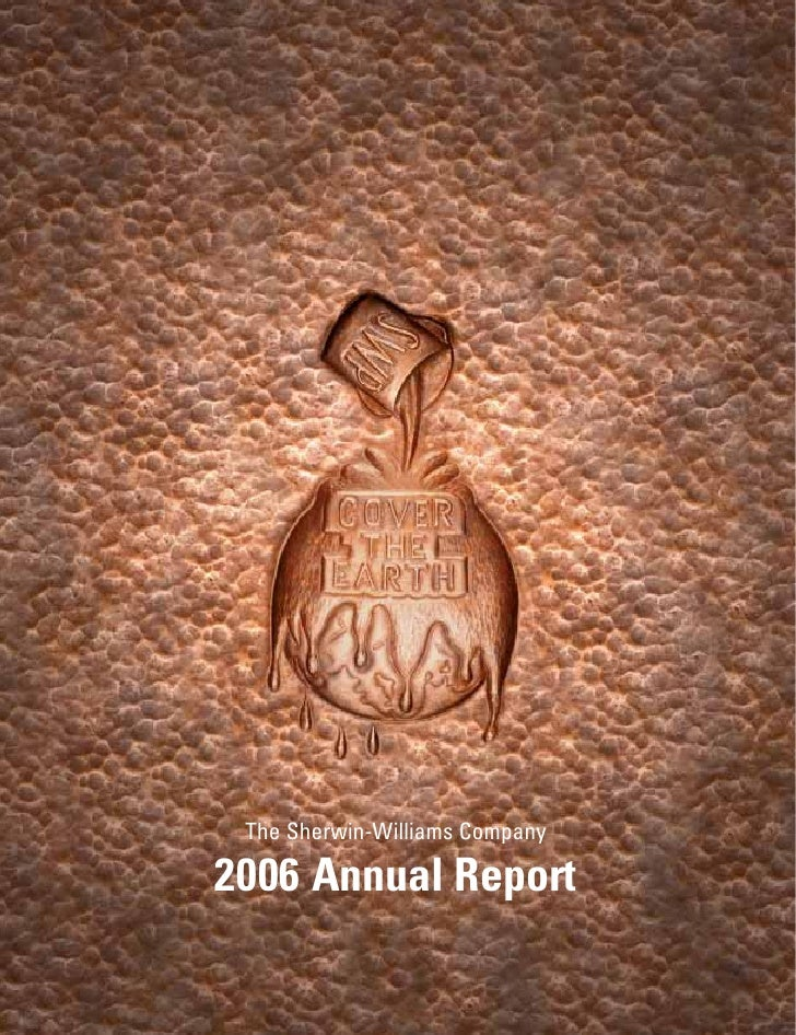 Sherwin Williams 2006 Annual Report