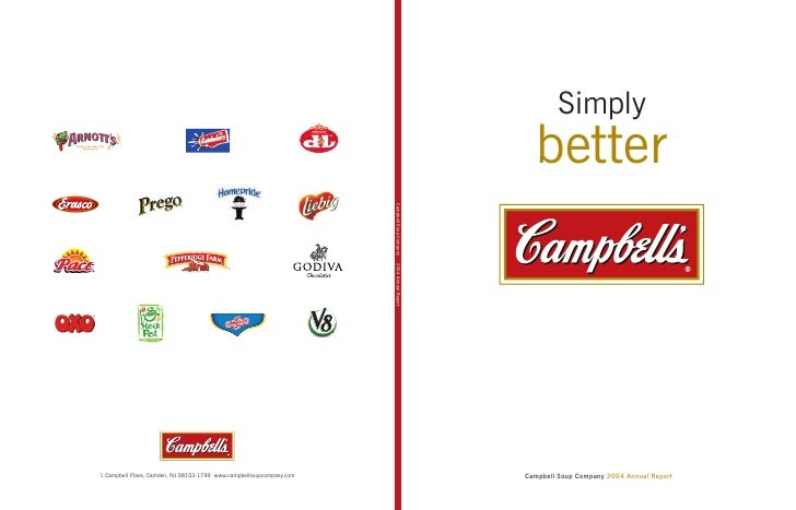 Simply    better     Campbell Soup Company 2004 Annual Report