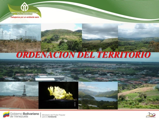 Geg. Carmen Rondon ORDENACION DEL TERRITORIO