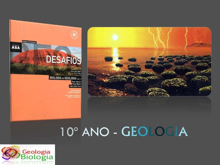 10º ANO - GEOLOGIA