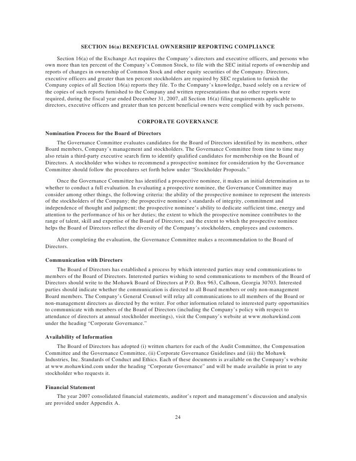 MHK_2008_Proxy_Statement - 웹