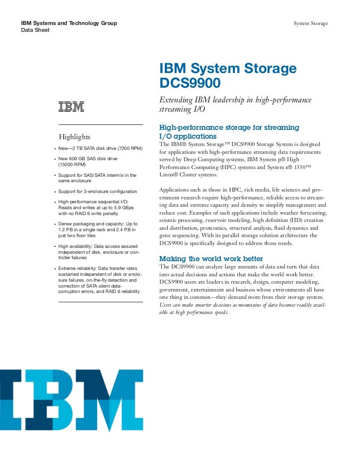 IBM Systems and Technology Group                                                                                        Sy...