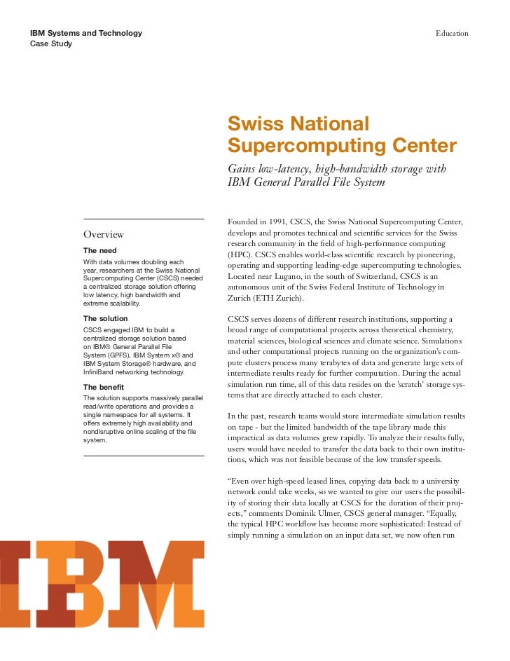 IBM Systems and Technology                                                                                              Ed...