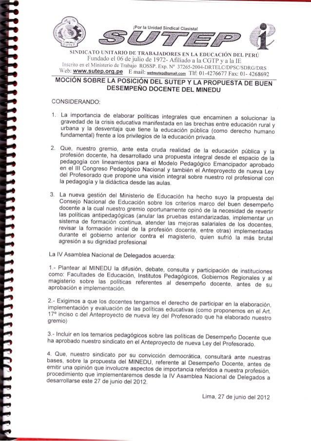 ffiffiffiffiffiw                                      iPor la Unidad Sindical             SI.DICATO UNITARIO DE TRABAJADOR...