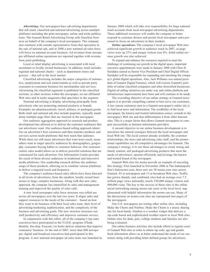 gannett 2007GCIAnnualReport