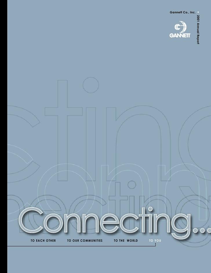 •                                                              Gannett Co., Inc.                                          ...