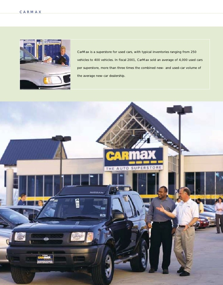 Carmax Versus Dealership Used Cars
