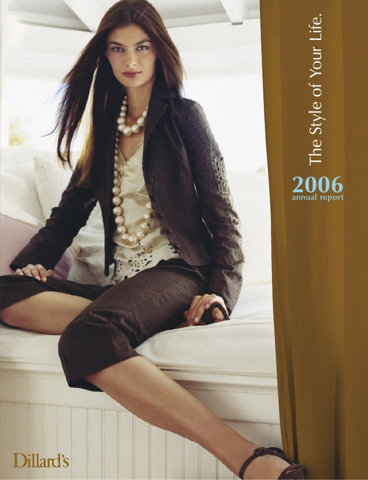 The Style of Your Life. annual report   2006