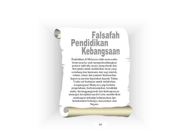 Pendidikan di Malaysia ialah suatu usaha   berterusan ke arah memperkembangkan   potensi individu secara menyeluruh dan   ...