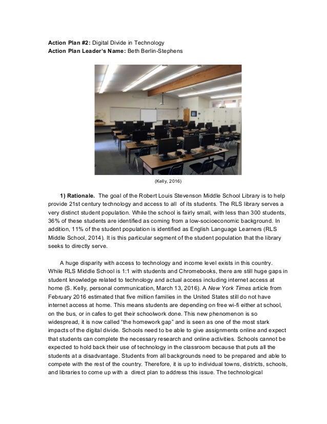 School & Youth Team 1- Strategic Plan for RLS M.S. Library ...