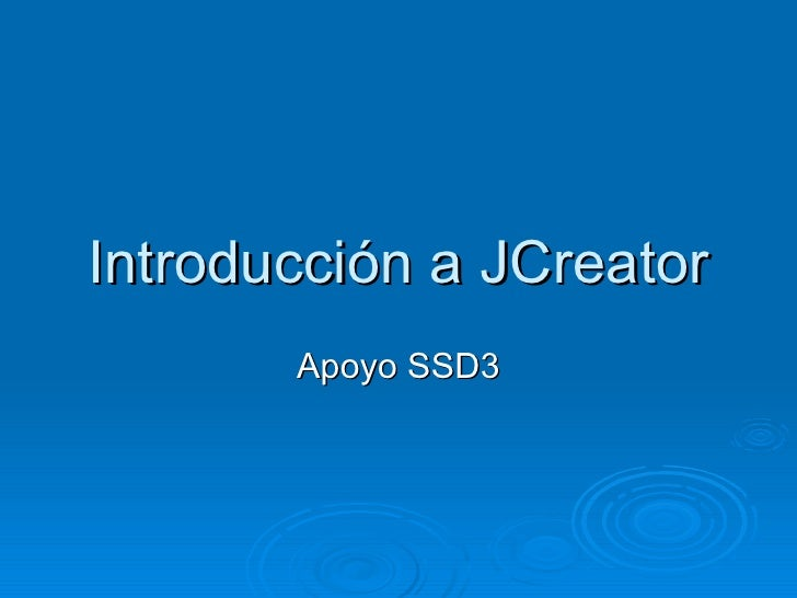 1 1 6 Introduccion A J Creator