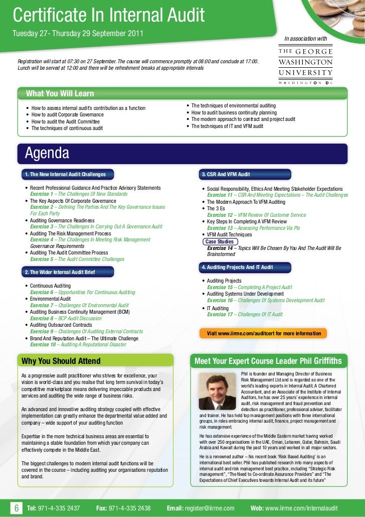how to make an internal audit plan