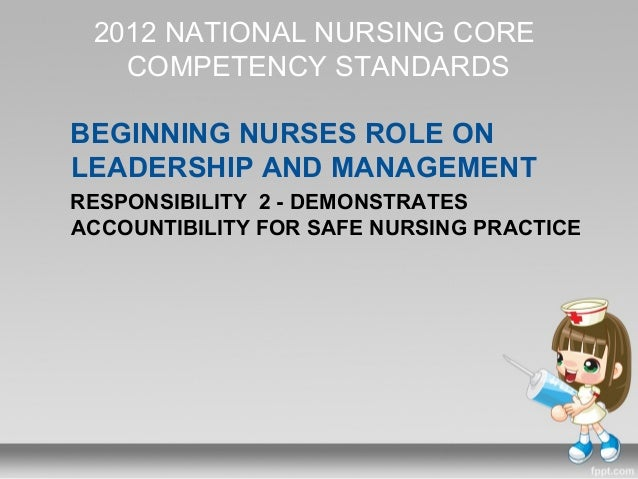 core competency standards for filipino nurses Vital to performing in a role (national institute of standards   21 oncology nurse navigator core competencies process of competency development.