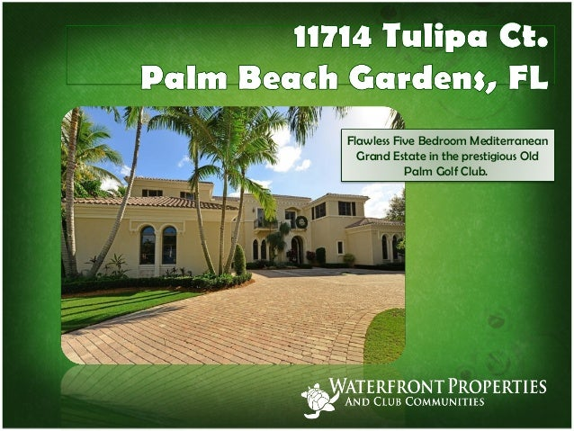 5 Bed 6 5 Bath Old Palm Home For Sale In Palm Beach