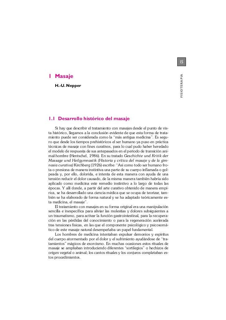 151 Masaje                                                                               FISIOTERAPIA    H.-U. Nepper1.1 D...