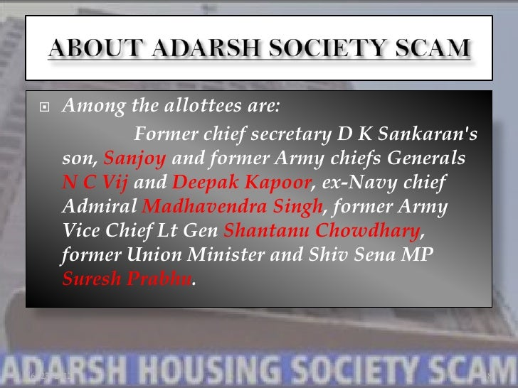 adarsh housing society scam Mumbai: the cbi has informed the bombay high court that further probe into alleged proxy flats in the scam-tainted adarsh housing society has not revealed any fresh.