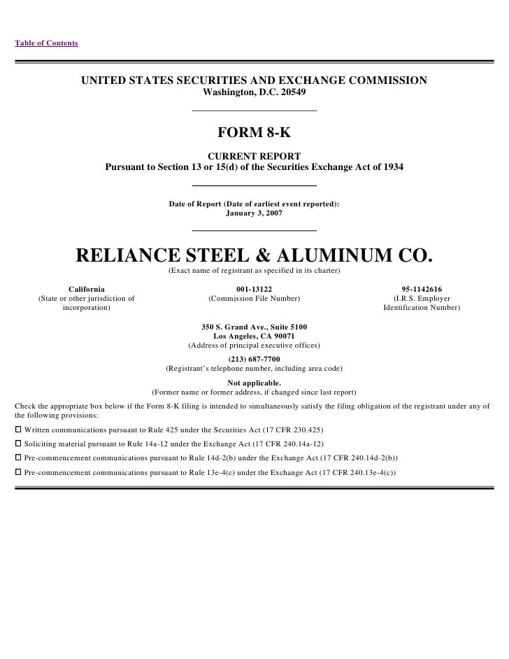 Table of Contents                        UNITED STATES SECURITIES AND EXCHANGE COMMISSION                                 ...