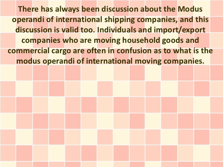 There has always been discussion about the Modus operandi of international shipping companies, and this  discussion is val...