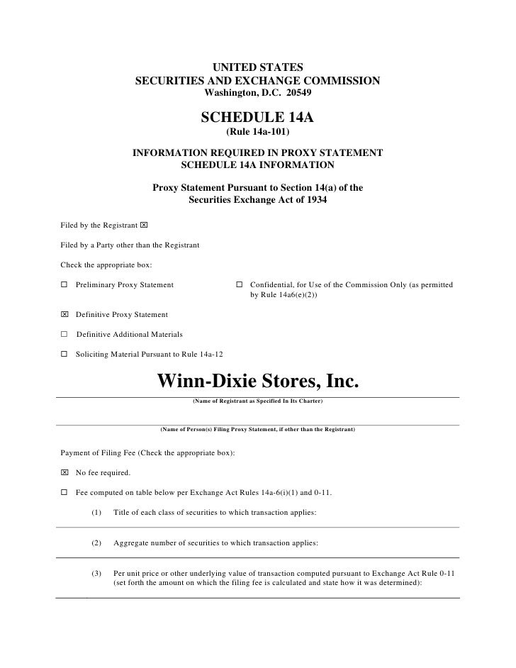 UNITED STATES                       SECURITIES AND EXCHANGE COMMISSION                                               Washi...