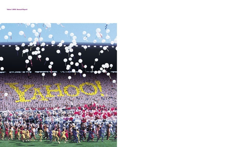 Yahoo! 2001 Annual Report