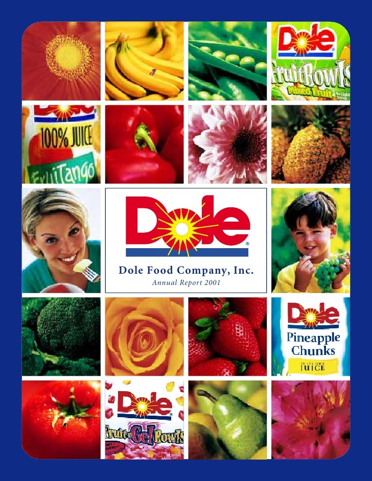 Dole Food Company, Inc.      Annual Report 2001