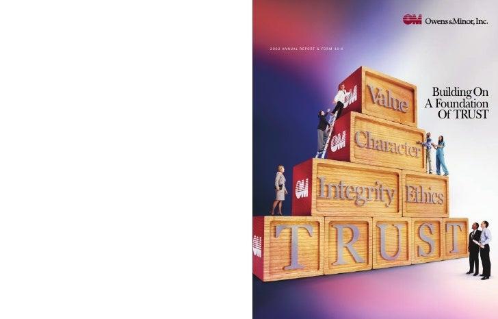 2002 ANNUAL REPORT & FORM 10-K                                       BuildingOn                                  A Foundat...