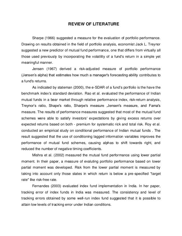 sbi bank financial analysis literature review Non-performing assets: a study of state bank of india 1drdganesan 2rsanthanakrishnan  the sound financial position of a bank depends upon the recovery of loans or its level of non-performing assets (npas)  review of literature sreedharan, (1996).