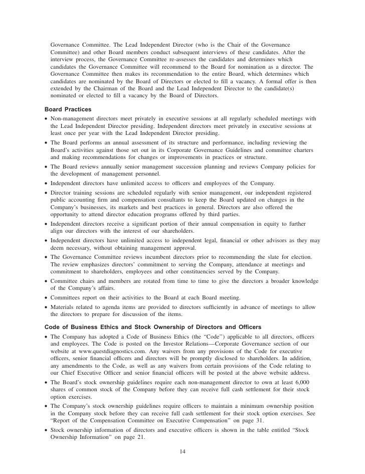 quest diagnostics 2006_Proxy