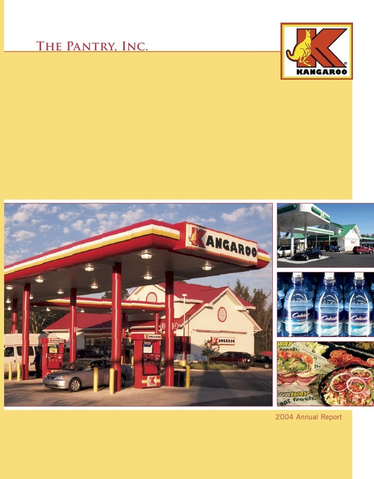 The Pantry, Inc.                        2004 Annual Report