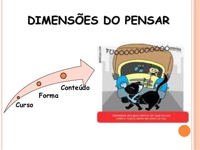 DIMENSÕES DO PENSAR Curso Forma Conteúdo